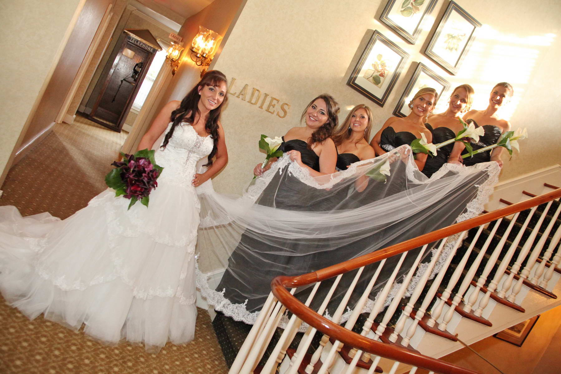 Davids Country Inn,Bride and Bridesmaids,Classic Photography