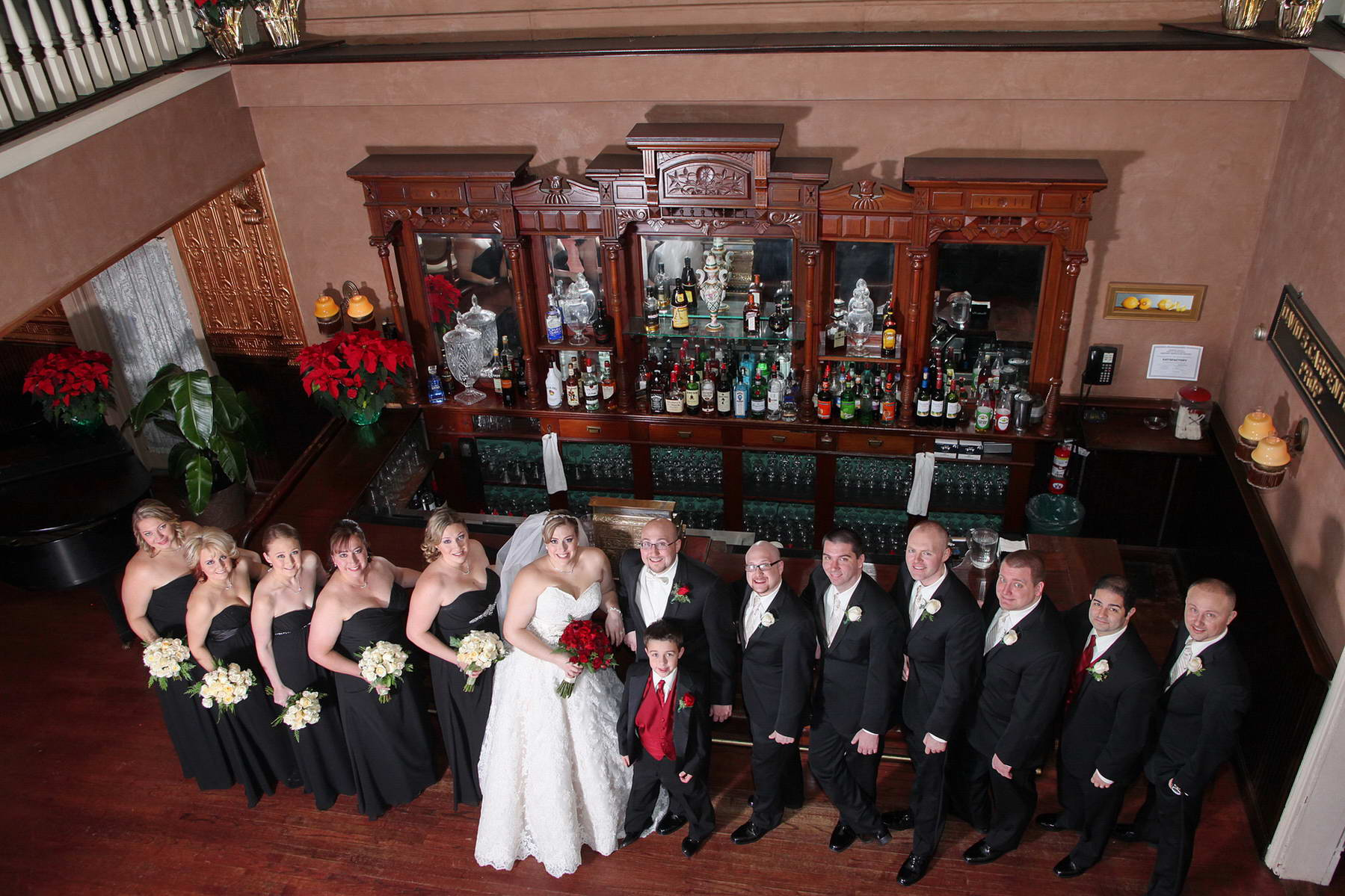 Davids Country Inn,The Bridal Party,Classic Photography