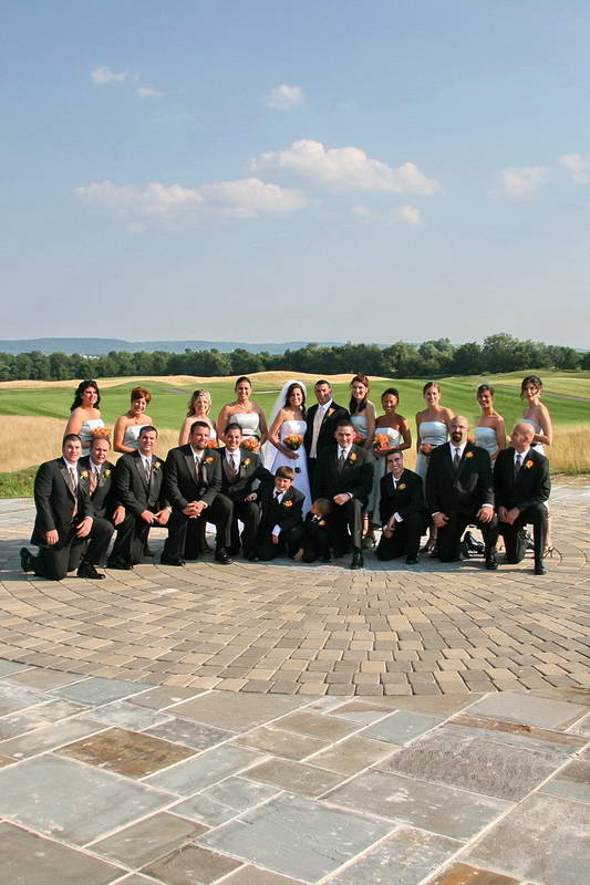 The Architects Golf Club,Bridal Party Group Picture